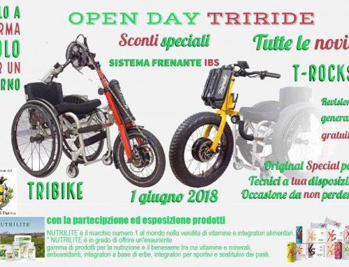 Open Day Triride del 1 giugno 2018