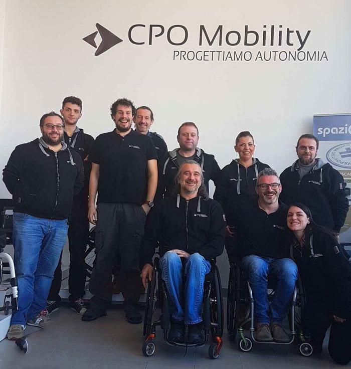 team CPO mobility parma